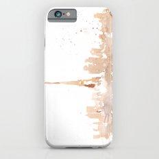 Watercolor landscape illustration_Paris iPhone 6s Slim Case