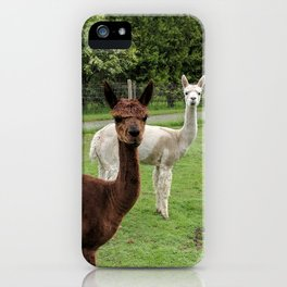 Double Trouble iPhone Case
