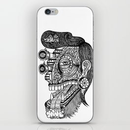 self portrait iPhone Skin