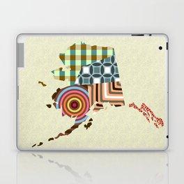 Alaska State Map Laptop & iPad Skin