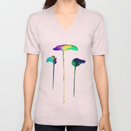 Raining Colour Unisex V-Neck