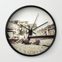 antique Wall Clocks featuring [Antique] by Mathias Rat