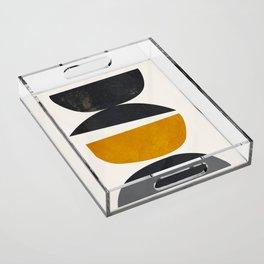 abstract minimal 23 Acrylic Tray