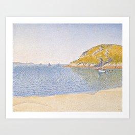 Port of Saint-Cast Art Print