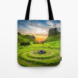Fairytale Landscape, Isle of Skye, Scotland Tote Bag