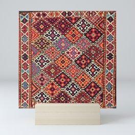 Kordi Sumakh Antique Khorasan Persian Tribal Bag Print Mini Art Print