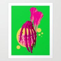 bones Art Prints featuring Bones by Love2Laugh