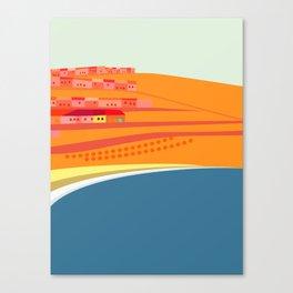 Rosarito Seashore Canvas Print