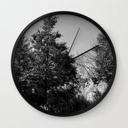 The Trees - Moody n' Grey Wall Clock