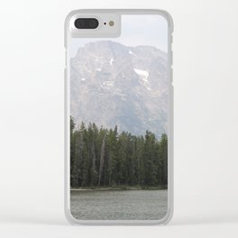 Mountains High Clear iPhone Case