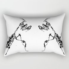 Violin Mantis Rectangular Pillow