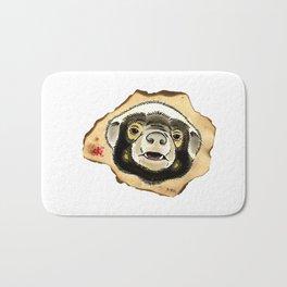 Honey Badger Bath Mat