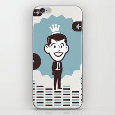Businessman iPhone & iPod Skin