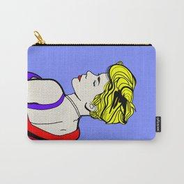 Robyn - Roy Lichtenstein Inspired Portrait 2 Carry-All Pouch