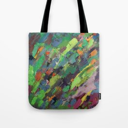 Spring Breeze and Green Tote Bag