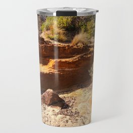 Blackrock beach in Melbourne Travel Mug