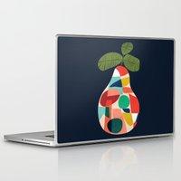 pear Laptop & iPad Skins featuring Fresh Pear by Picomodi