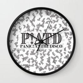 P!ATD Shatter Wall Clock