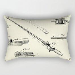 Fishing Tackle-1884 Rectangular Pillow
