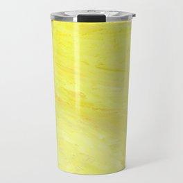 Abstract Yellow Sun by Robert S. Lee Travel Mug