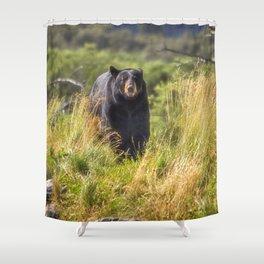 Running Bear Shower Curtain