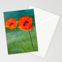 Poppies paradise Stationery Cards