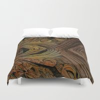 geology Duvet Covers featuring Stones by GC