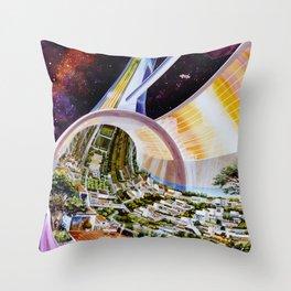 Cutaway View, Stanford Torus Throw Pillow
