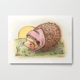 Violet the hedgehog Metal Print