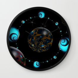 Starry Starry Night Wall Clock