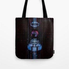 Virtual Data Earth Tote Bag