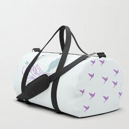 Nest with Bird Duffle Bag