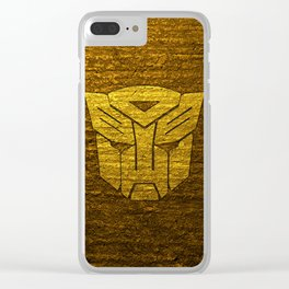 Autobot logo Clear iPhone Case