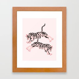 fierce females Framed Art Print