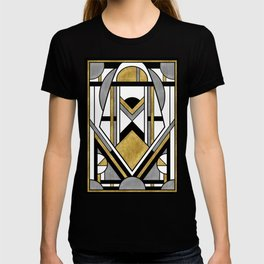 Up and Away - Art Deco Spaceman T-shirt