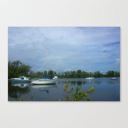 Day in Florida Canvas Print