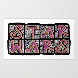 SW art Art Print