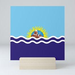 Flag of Santa Cruz Mini Art Print
