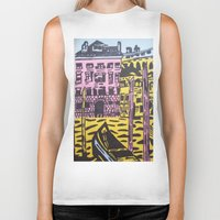venice Biker Tanks featuring Venice by Stefanie Sharp