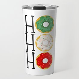 Ho Ho Ho - Holiday Donuts Travel Mug