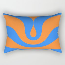 Vintage wave Rectangular Pillow