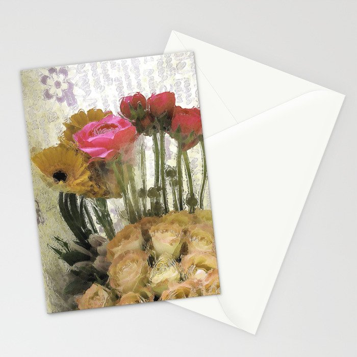 Glossy Love Letters 2 Stationery Cards