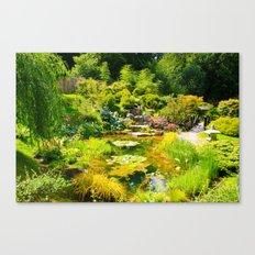 The Tea Garden Canvas Print