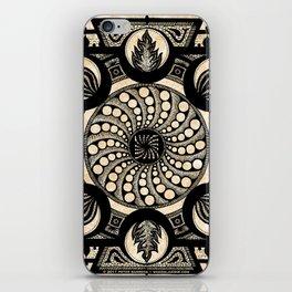 vólkoshan gallery mandala iPhone Skin