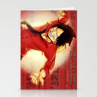 luffy Stationery Cards featuring Luffy  by kimiyo