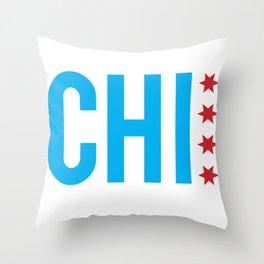 C H I Throw Pillow