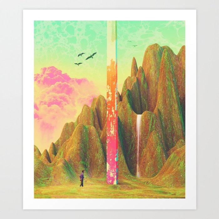 Simile Paradise Art Print