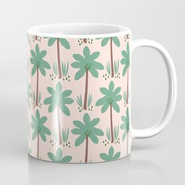 Green Plum Tree Coffee Mug