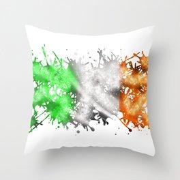 Irish Sparkle Throw Pillow