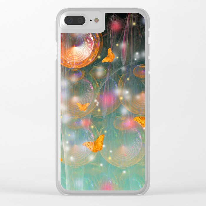 Entrance to the faerie worlds Clear iPhone Case